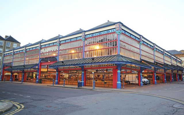 The heat deprived Huddersfield Open Market