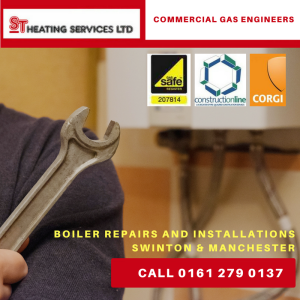 commercial gas engineers Manchester