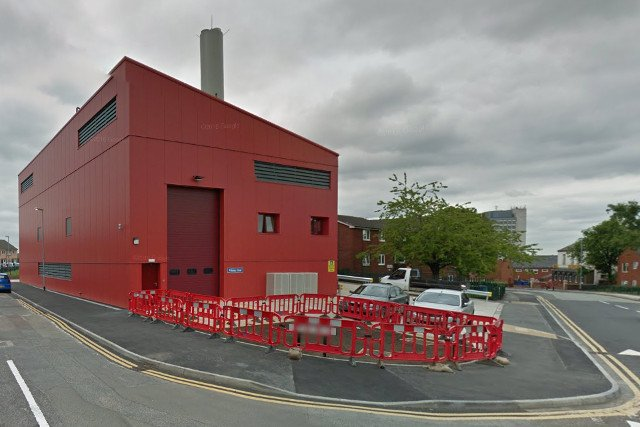 Oldham's District Heating Plant (image via Google Maps).