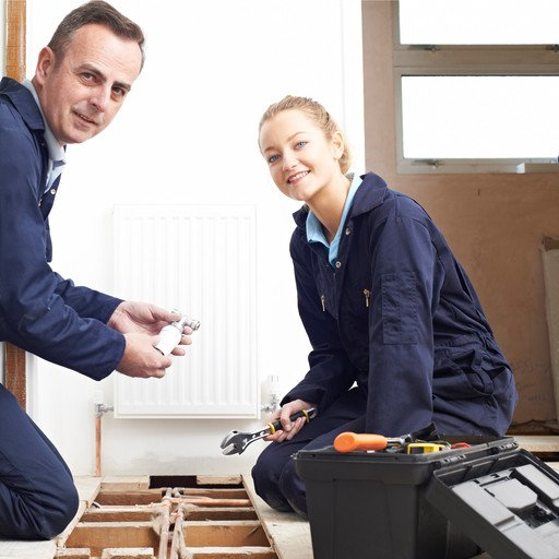 Heating Apprentice image by SpeedKingz (via Shutterstock).
