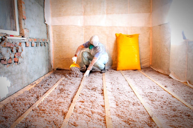 Loft insulation image by Mironmax Studio (via Shutterstock)