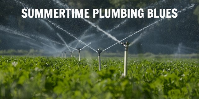 Summertime plumbing blues image by Itsajoop (via Shutterstock).