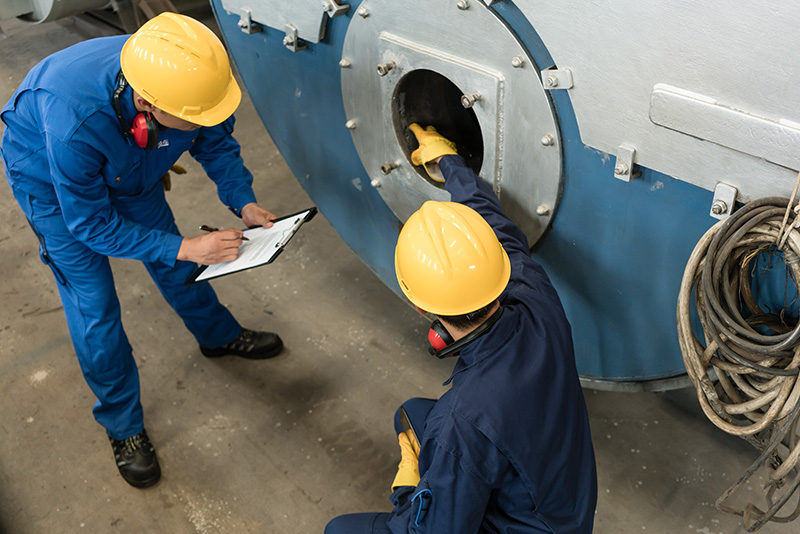 industrial boiler maintenance