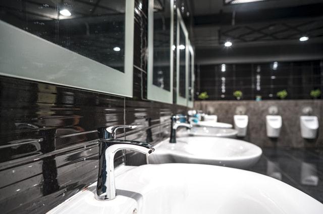 Commercial Restroom Plumbing
