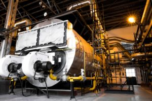Modern Industrial Boiler