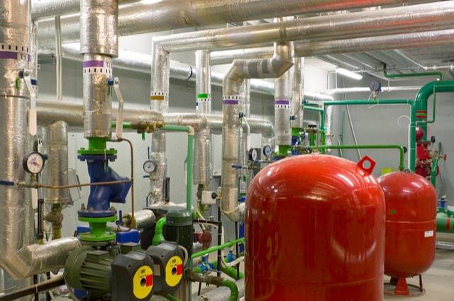 commercial boiler sizes