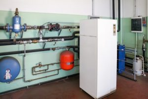 Why don't larger commercial buildings use geothermal heating