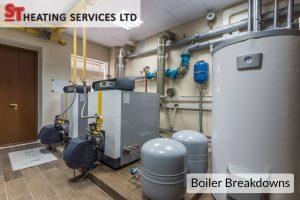 commercial boiler breakdowns